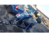 nipponia 125cc arte scooter moped not yamaha suzuki or 50cc
