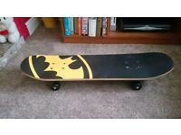 Batman style skateboard