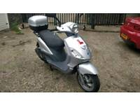 Piaggio fly 100cc, years mot, serviced, great runner