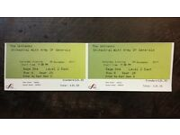 Two concert tickets for The Unthanks at The Sage in Gateshead 9th December 2017 7.30