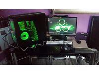 Cheap gaming PC setup!