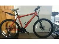 "Bigfoot Muddyfox mountain bike (20"" FRAME) SHOCKS"