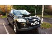 CHEVROLET CAPTIVA, RARE AUTOMATIC 4x4, LOW MILAGES, 7 SEATER, PRICE NEGOTIABLE