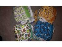 Cloth nappy set - bambino mio and tots bots