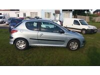 2003 PEUGEOT 206 GOOD CONDITION LONG MOT 66000 MILES