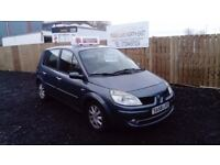 2008 58 RENAULT SCENIC DYNAMIC 1.6 6 SPEED VVT FULL MOT GREAT EXAMPLE £895