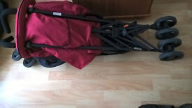Hauck Lima stroller (like new)