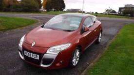RENAULT MEGANE 1.9 PRIVILEGE DCI,2009,Alloys,Leather,Sat Nav,Cruise,Parking Sensors,Sunroof,6 speed