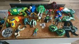 A bundle of mixed toys
