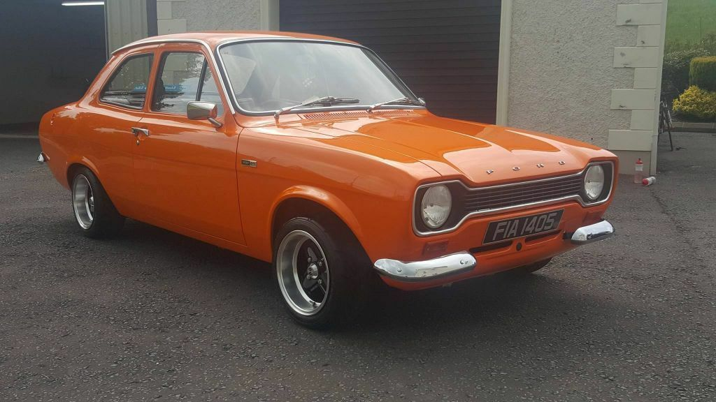 Ford Escort Mk1 1972 Vista Orange | in Dungannon, County Tyrone ...