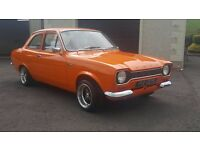 Ford Escort Mk1 1972 Vista Orange