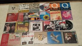 JOBLOT 100 X COMPILATION CD ALBUMS INDIE NME ROCK POP UNCUT WORD MOJO Q XMAS PRESENT HA3 VIEWING