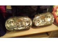 VW golf mk4 headlights / lights