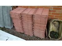 Roof Tiles - Redland landmark double roman concrete roof tiles - terracotta brindle