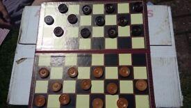 Chess/Draughts set