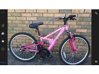 Girls mountain bike Apollo FS24 (8-12yrs)