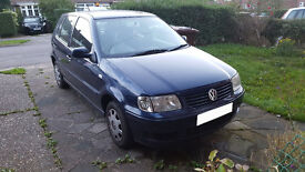 Well looked after blue 51 plate VW Polo