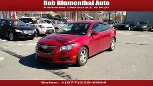 2012 Chevrolet Cruze LT Turbo ($45 weekly, 0 down, all-in, OAC)