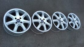 16'' ford ALLOY WHEELS 4x108 focus FIESTA escort SIERRA transit connect KA courier 4stud