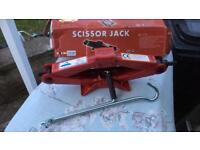 2 Ton scissor jack, new