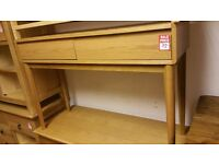 2 drawer dressing table - wood