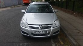 2008 58 plate vauxhall astra 1.6 patrol s/automatic silver Estate