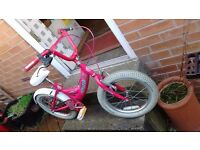 Two kids/childrens bikes for sale