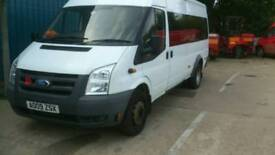 Ford transit T430 mini bus 17 seater 2009