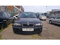 2003 BMW 316i **SPARE & REPAIR**STARTS & DRIVES**SLIGHT MISFIRE**LOW MILEAGE 78K**FULL LEATHER INT