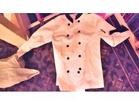 Chef's White Button Up Top Jacket