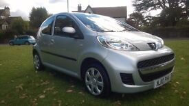 **12 MONTHS MOT** 2010 PEUGEOT 107 1.0 12V URBAN 5 DOOR HATCHBACK **£20 ROAD TAX*STUNNING DRIVE**