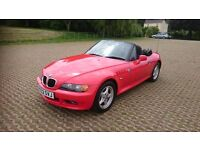 BMW Z3 convertible 1997 R reg 1.9 Petrol Manual **80,000 miles**