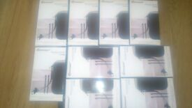 JOB LOT OF BRAND NEW + SEALED BLACK NINTENDO DS LITE / NINTENDO DSI ACCESSORIES.