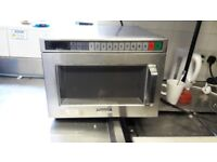 Comercial microwave 1900w for sale working fine £700+ online will take £200