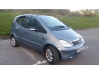 mercedes a140 nice looking car with alloys
