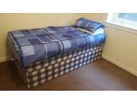 Single divan bed for sale
