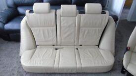 BMW X5 E53 Leather Seats