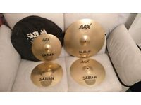 Sabian AAX Stage Performance Set Cymbals (plus carry bag)