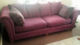 Fantastic condition sofa and armchair