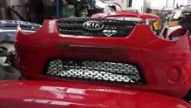 Kia picanto 2010 breaking in silver red