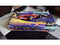 Formula one x3 horby scalextric