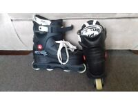 roller blades for sale, size 5-6, in great condition £7