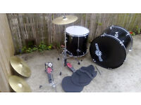 2 x Gear 4 Music Drums and 3 Cymbals
