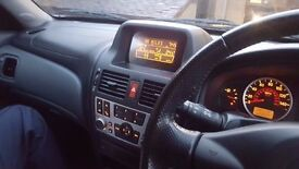 Nissan Almera 2006 with long MOT, Low mileage with all electric toys