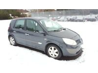 2005 Renault Scenic Dynamique MPV 5 Door 6 Month MOT Alloy Wheels 66000 Miles Only