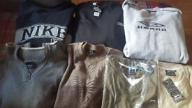 XXLarge Mens Clothes Bundle jumpers , tshirts etc mostly all new