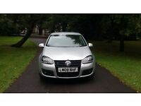 2008 Volkswagen golf gt sport tdi fsh leather £3995 *civic 308 focus megane a3 astra mazda3 size car