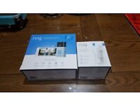 Ring Doorbell V2 + Chime Pro fully boxed in perfect condition
