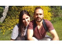 Spanish couple looking for a room