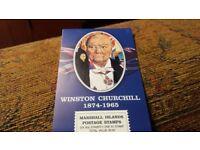 Winston Churchill stamps; BARGAIN - Marshall Islands - Bargain